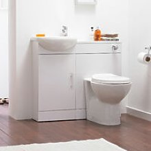 Sienna Combination Furniture Pack With WC Unit