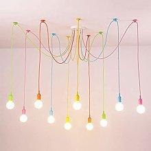 Siet DIY Ceiling Spider Lamp Colorful Pendant