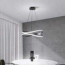 Siet LED Pendant Light 55W Spiral Chandelier,