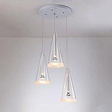 Siet Modern Glass Pendant Light White Kitchen