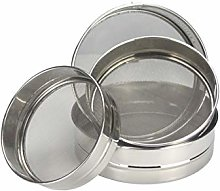 Sieve Stainless Steel Flour With Mesh 4 Piece Set