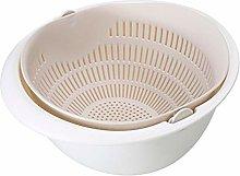 Sieve Strainer Kitchen Drain Basket Bowl Washing
