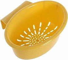 Sieve Strainer Kitchen Drain Basket Hanging Sink