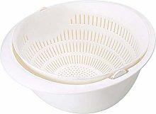 Sieve Strainer Kitchen Drain Basket Washing