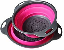 Sieve Strainer Kithchen Collapsible Silicone