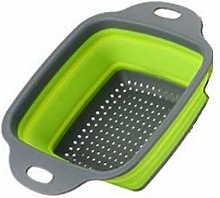 Sieve Strainer Square Drain Basket Collapsible