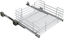 Sige Pull-Out Basket for Mobile, Chrome, 600mm