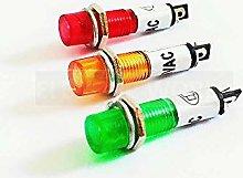 Signal Light 7mm Plastic Indicator Lights 5-6pcs