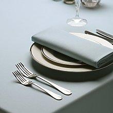 Signature Circular Tablecloth No Join Light Blue
