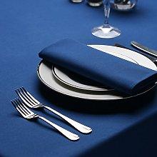 Signature Circular Tablecloth No Join Royal 163