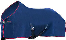 Signature Fleece Rug (4 ft 9) (Navy/Red/Blue) - HY