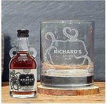 Signature Gifts Personalised Whiskey Glass &