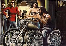SIGNLEADER Pictures for wall David Mann Art Print