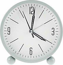 Silent Alarm Clocks Bedside Non Ticking Battery