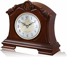 Silent Decorative Wooden Mantle Clock, Westminster