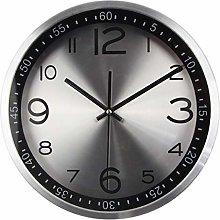 Silent Vintage Clock Quartz Metal Wall Clock