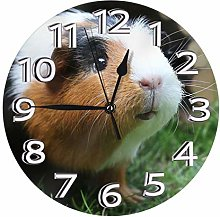 Silent Wall Clocks 10 Inch Battery Operated Cute