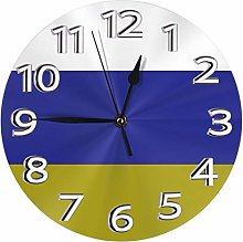 Silent Wall Clocks 10 Inch Battery Operated Leeds