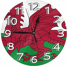 Silent Wall Clocks 10 Inch Battery Operated Welsh