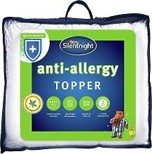 Silentnight Anti-Allergy Mattress Topper - Single