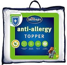 Silentnight Anti-Allergy Mattress Topper