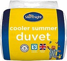 Silentnight Cooler Summer 4.5 Tog Duvet, White,