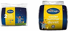 Silentnight Cooler Summer Pillow, Pack of 2 with