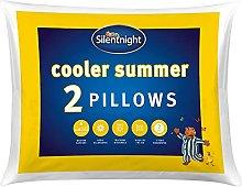 Silentnight Cooler Summer Pillow, Pack of 2