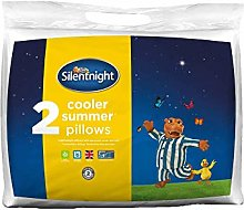Silentnight Cooler Summer Pillow, Pack of 2