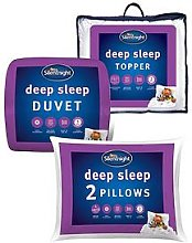 Silentnight Deep Sleep 13.5 Tog Duvet, Pillow Pair