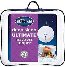 Silentnight Deep Sleep Luxury Mattress Topper,