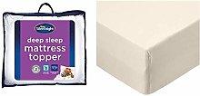 Silentnight Deep Sleep Mattress Topper,
