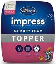 Silentnight Impress 25cm Memory Foam Mattress