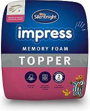 Silentnight Impress Memory Foam 2.5cm Mattress