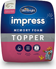 Silentnight Impress Memory Foam 2.5cm Mattress