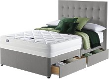 Silentnight Knightly 2000 4 Drawer Kingsize Divan