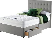 Silentnight Knightly 2000 Luxury Double 2Drw Divan