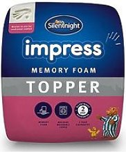 Silentnight Luxury Impress 7Cm Memory Foam