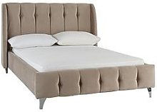 Silentnight Lyla Fabric Bed Frame - Taupe