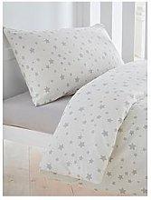 Silentnight Printed Stars Cot Bed Duvet Cover