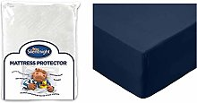 Silentnight Quilted Mattress Protector Plus,