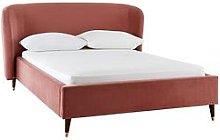Silentnight Rosa Fabric Bed Frame - Old Rose