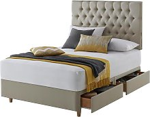 Silentnight Sassaria 4 Drawer Double Divan Bed -