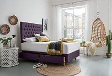 Silentnight Sassaria Kingsize 4 Drawer Divan Bed -