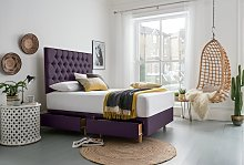Silentnight Sassaria Superking 4 Drawer Divan Bed