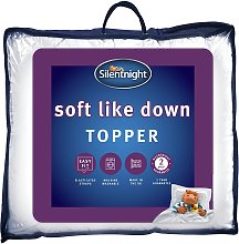 Silentnight Soft Like Down Mattress Topper - Single