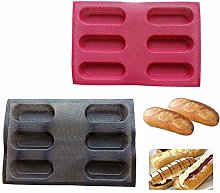 Silicone Bakery Porous Non Stick Breathable Eclair