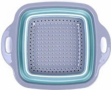 Silicone collapsible colander, Multifunctional