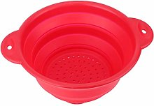 Silicone Collapsible Colander with Non-Slip