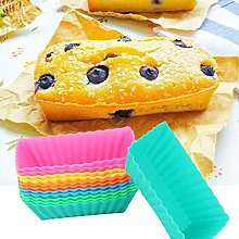 Silicone Cupcake Muffin Baking Cups Liners,